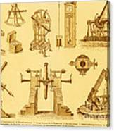 Historical Astronomy Instruments Canvas Print