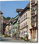 Historical Old Town Rottweil Germany Canvas Print