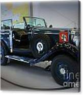 Hitler's 39 Mercedes-benz Canvas Print