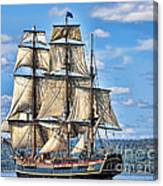 Hms Bounty Canvas Print
