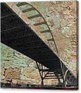 Hoan Bridge And Brick Canvas Print