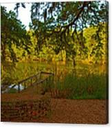 Hobcaw Barony Pond Canvas Print