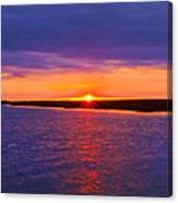 Hobcaw Barony Sunrise Canvas Print