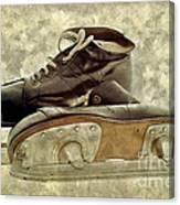 Hockey Boots Canvas Print