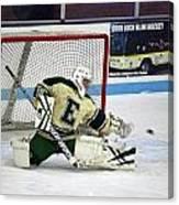 Hockey The Big Reach Canvas Print