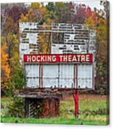 Hocking Theatre Canvas Print