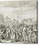 Hogarth: Industry, C1751 Canvas Print