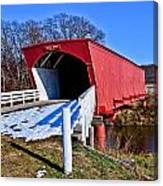 Hogback Covered Bridge Canvas Print