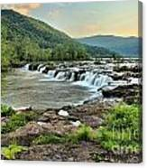 Hole In The New River Canvas Print