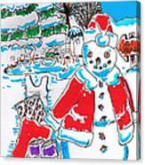 Holiday Dip Canvas Print