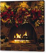 Holiday Hearth Canvas Print