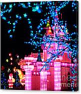 Holiday Lights 8 Canvas Print