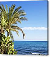 Holidays By The Sea Canvas Print
