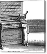 Hollerith Tabulator, 1890 Canvas Print