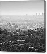 Hollywood From Above Canvas Print