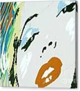 Marilyn In Hollywood 3 Canvas Print