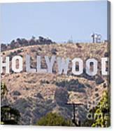 Hollywood Sign Photo Canvas Print