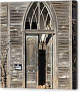 Holy Haven For Cats Canvas Print