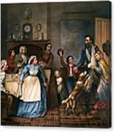Home Again, 1866 Canvas Print