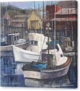 Home Port Canvas Print