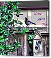 Home Sweet Home 1 Canvas Print