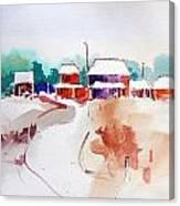Homestead. Canvas Print