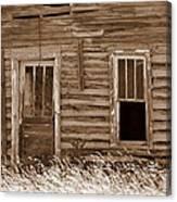 Homestead Past Canvas Print