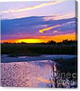Honeymoon Island Sunset Canvas Print