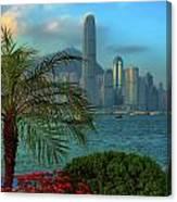 Hong Kong Mornings Canvas Print