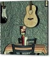 Honky Tonk Cafe Canvas Print