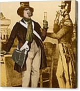 Honore De Balzac, French Author Canvas Print