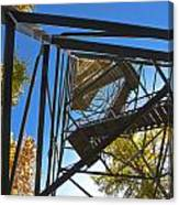 Hoodoo Fire Lookout Tower Canvas Print
