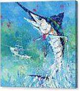 Hook Up Canvas Print