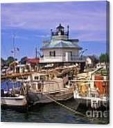 Hooper Strait Lighthouse - Fs000115 Canvas Print