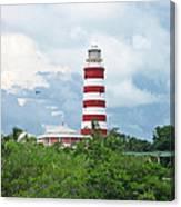 Hopetown Lighthouse Canvas Print