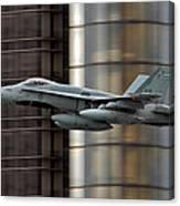 Hornet Buzzing Detroit Canvas Print