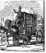 Horse Carriage, 1853 Canvas Print