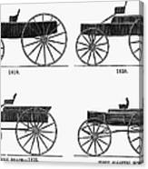 Horse Carriages, 1810-1860 Canvas Print