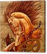 Horse Jewels Canvas Print