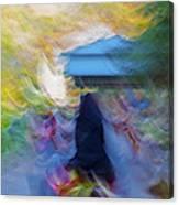Horseback Shades And Vibes Canvas Print