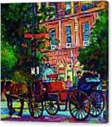 Horsedrawn Carriage Canvas Print