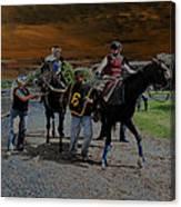 Horses 001 Canvas Print