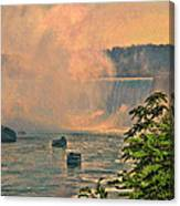 Horseshoe Falls Canadian Niagara Falls Canvas Print