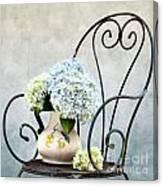Hortensia Flowers Canvas Print