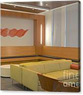 Hospital Waiting Room Canvas Print