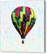 Hot-air-balloon Canvas Print