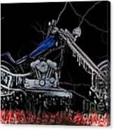 Hot Chopper Canvas Print