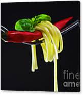 Hot Pasta  Canvas Print