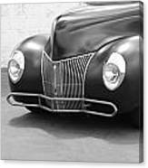Hot Rod Front End Canvas Print