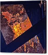 Hot Rust Canvas Print